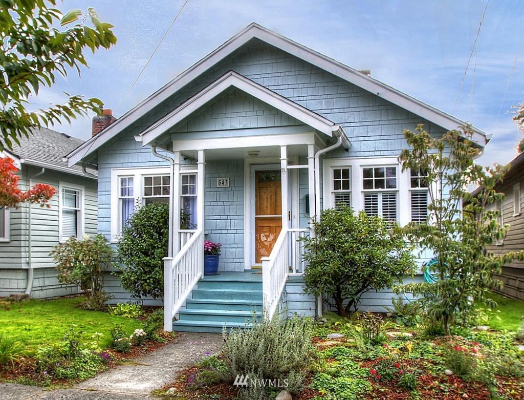 Sold Property   543 N 78th Street Seattle, WA 98103 0