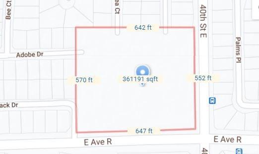 Closed   Vac/Cor Avenue R/40th Ste Palmdale, CA 93552 1
