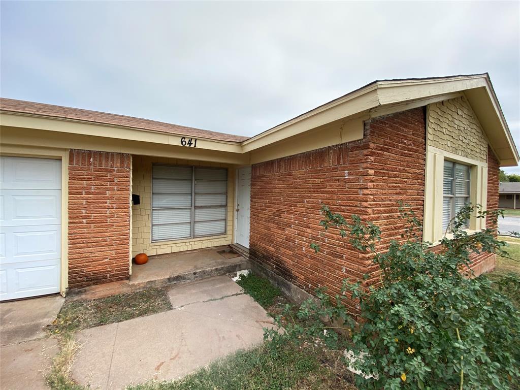 Active Option Contract | 641 S San Jose Drive Abilene, Texas 79605 1