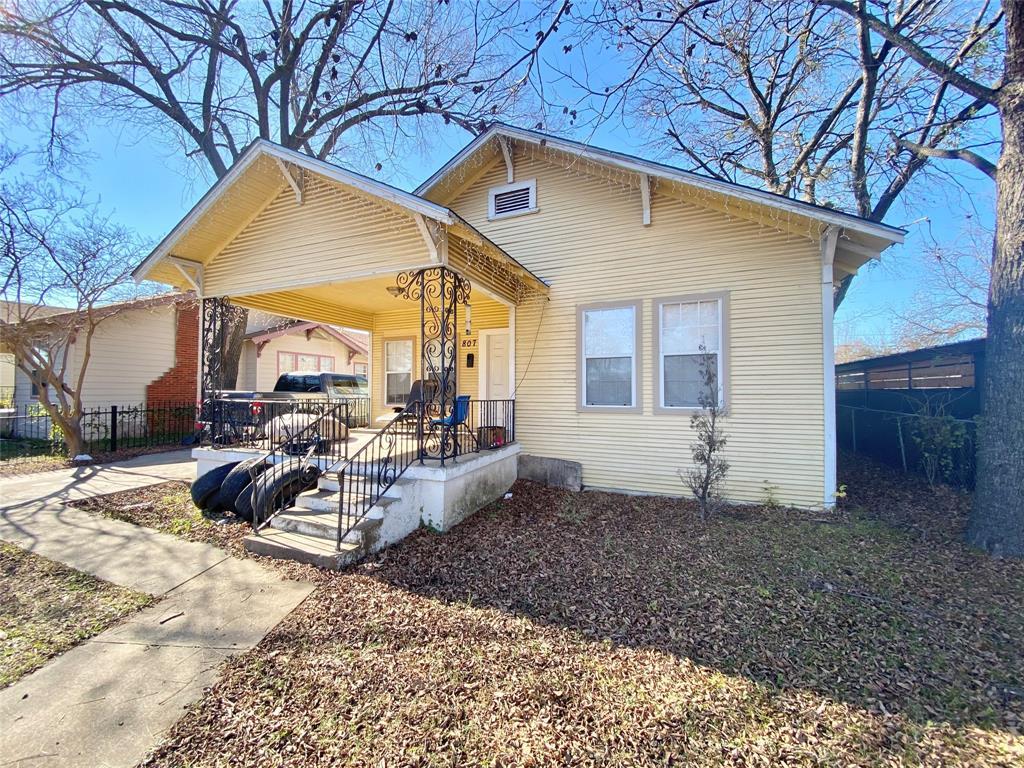 Sold Property | 807 Hollywood Avenue Dallas, Texas 75208 0