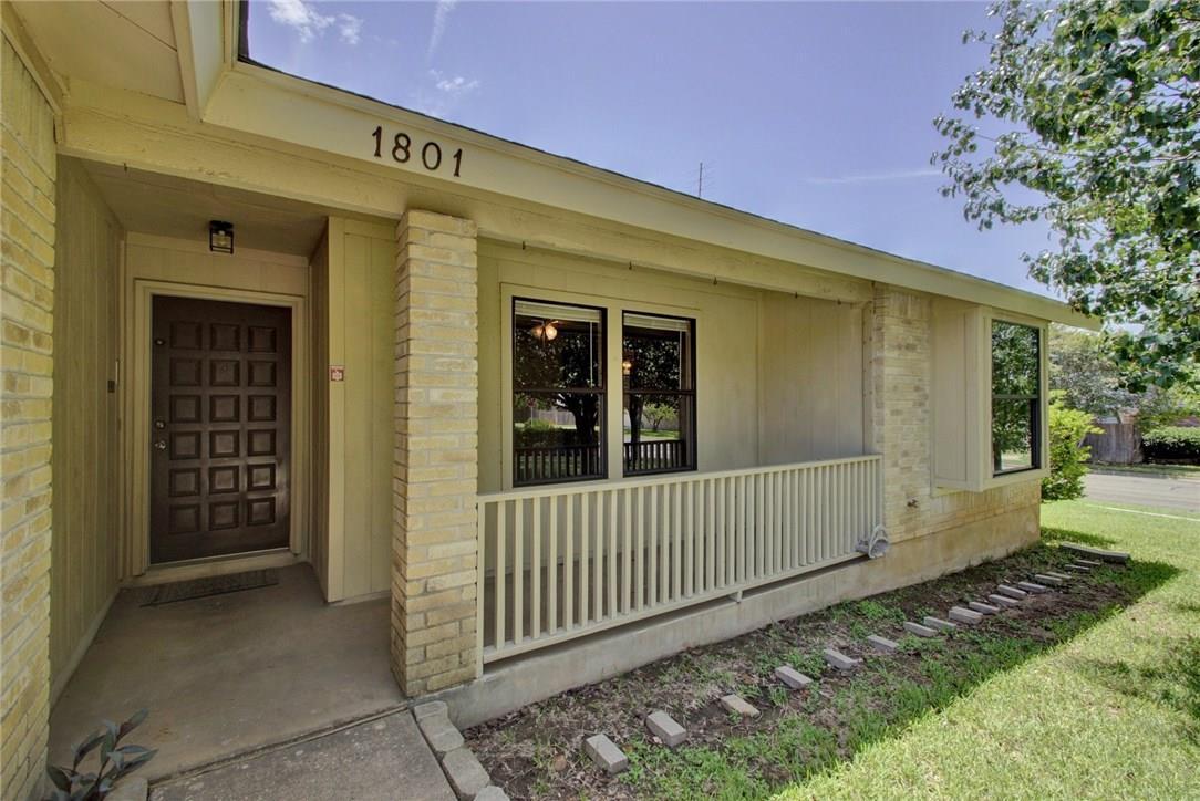 Closed | 1801 Zimmerman Cove Round Rock, TX 78681 1