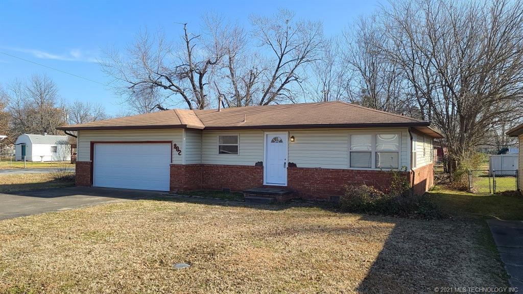 Off Market   802 S Choctaw Avenue Claremore, Oklahoma 74017 0