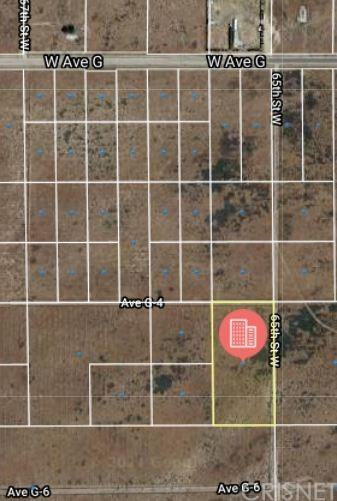 Active | 0 Vac/Vic Avenue G6/65th Antelope Acres, CA 93534 0