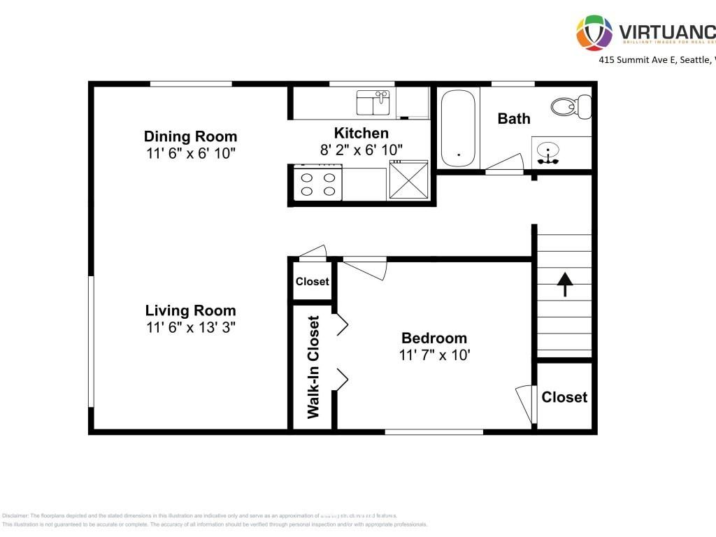 Sold Property   415 Summit Avenue E #2 Seattle, WA 98102 22