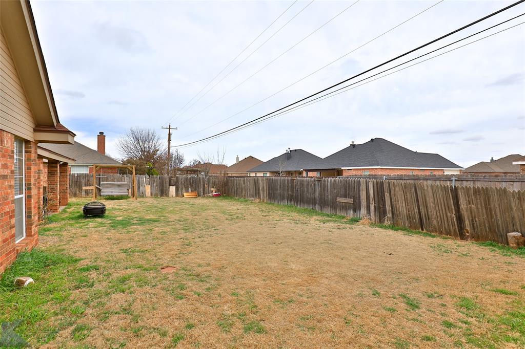 Sold Property | 6533 Todd Run Abilene, Texas 79606 27