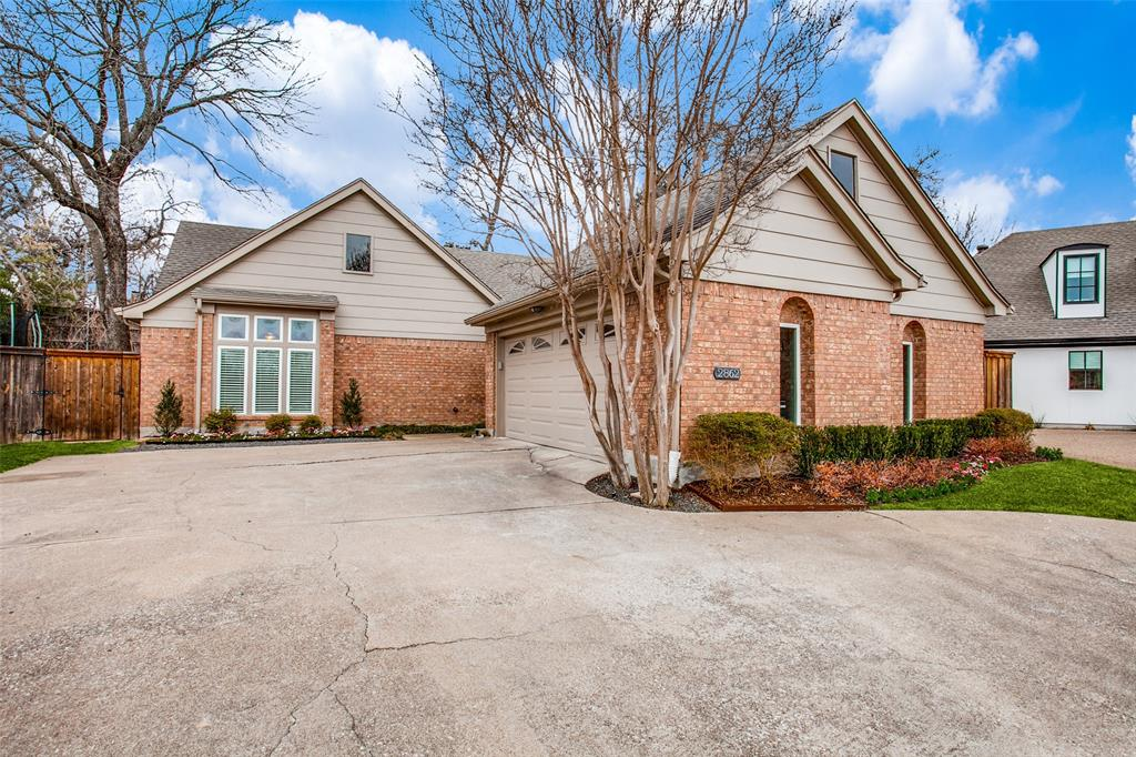 Pending | 2862 Lawtherwood Place Dallas, Texas 75214 0