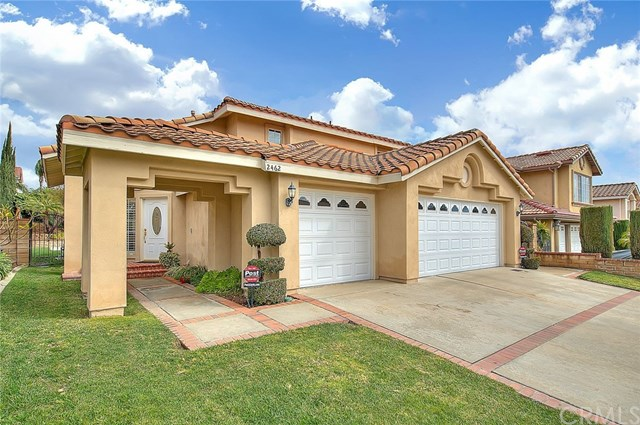 Closed | 2462 Monte Royale Drive Chino Hills, CA 91709 1