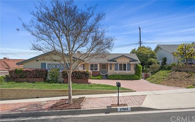 Pending   27602 Fawnskin Drive Rancho Palos Verdes, CA 90275 0
