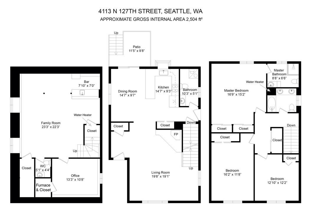 Sold Property | 413 N 127th Street Seattle, WA 98133 3