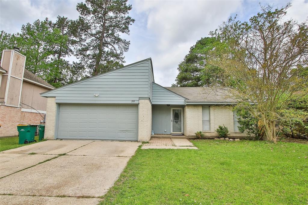 Option Pending | 203 Hartford Drive Conroe, Texas 77303 0