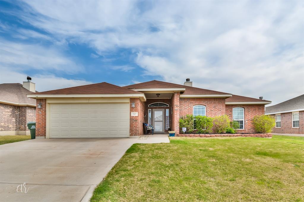 Sold Property | 349 Lollipop Trail Abilene, Texas 79602 0