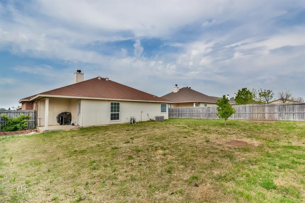 Sold Property | 349 Lollipop Trail Abilene, Texas 79602 27
