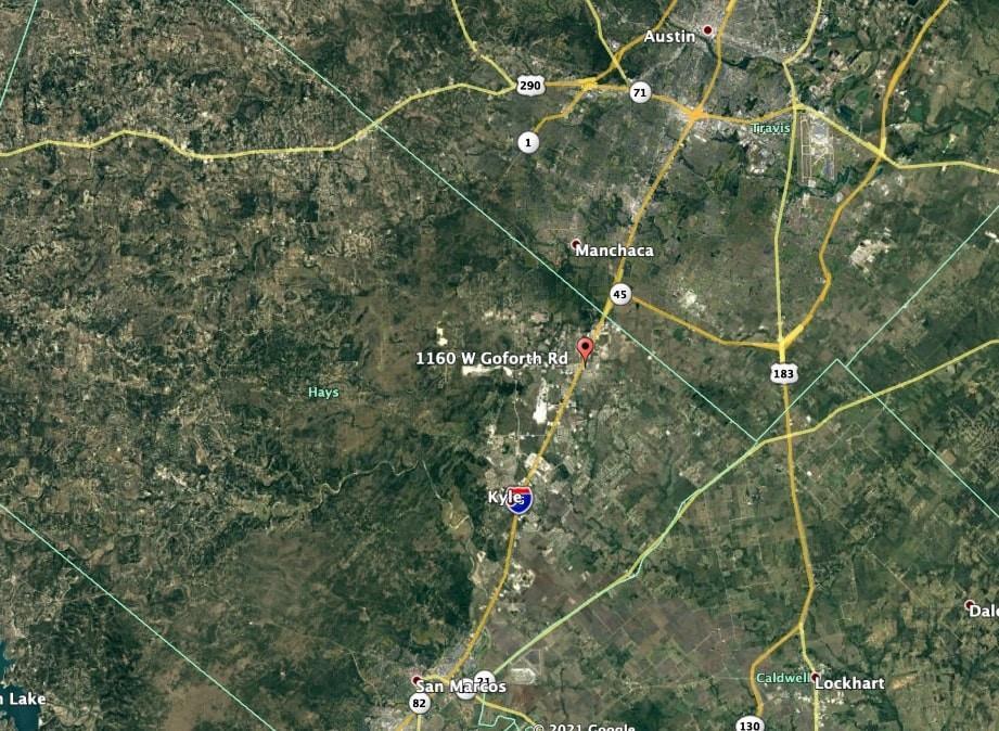Active   1160 W Goforth Road Buda, TX 78610 1