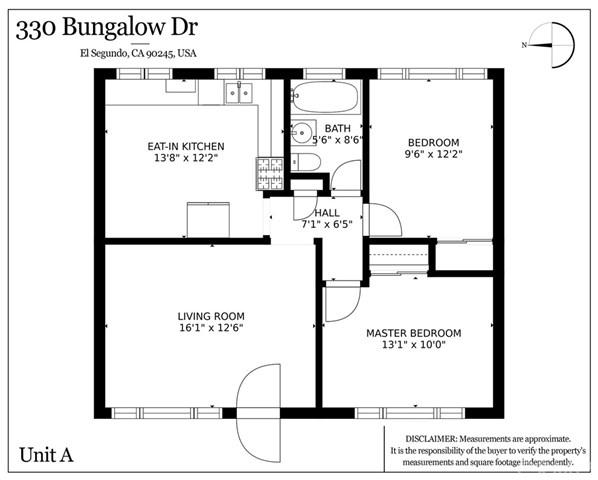Closed   330 Bungalow Drive El Segundo, CA 90245 3