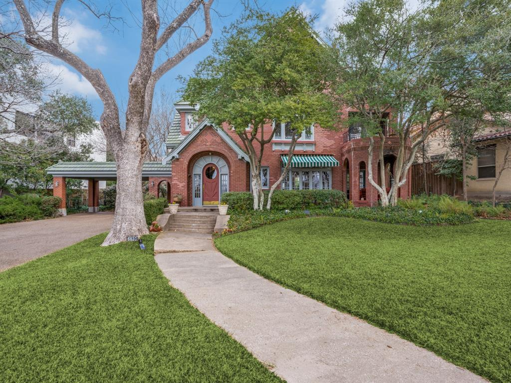 Sold Property | 6633 Country Club Circle Dallas, Texas 75214 1