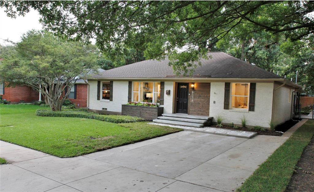 Sold Property   6116 Sudbury Drive Dallas, Texas 75214 2