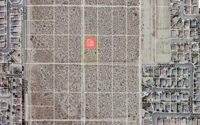 Active   0 Vac/Vic Avenue Q12/57 Ste Palmdale, CA 93552 1