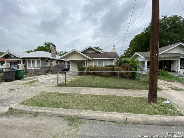 Active   1011 S PINE ST San Antonio, TX 78210 2