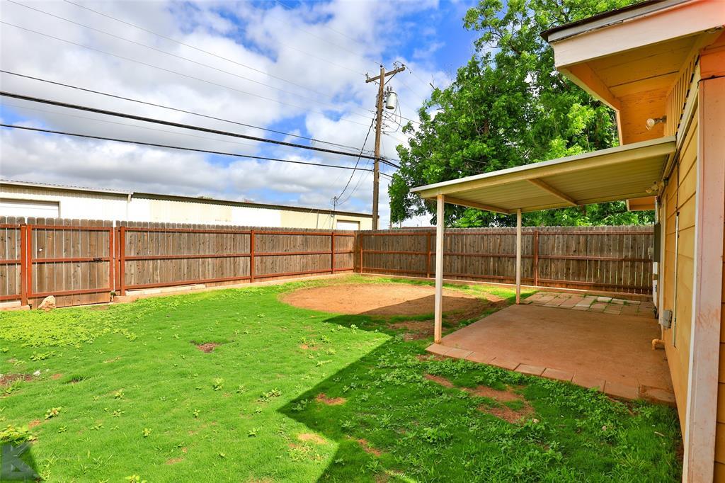 Sold Property   934 Fannin Street Abilene, Texas 79603 28
