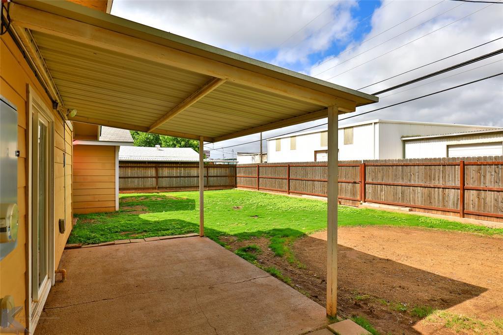 Sold Property   934 Fannin Street Abilene, Texas 79603 29