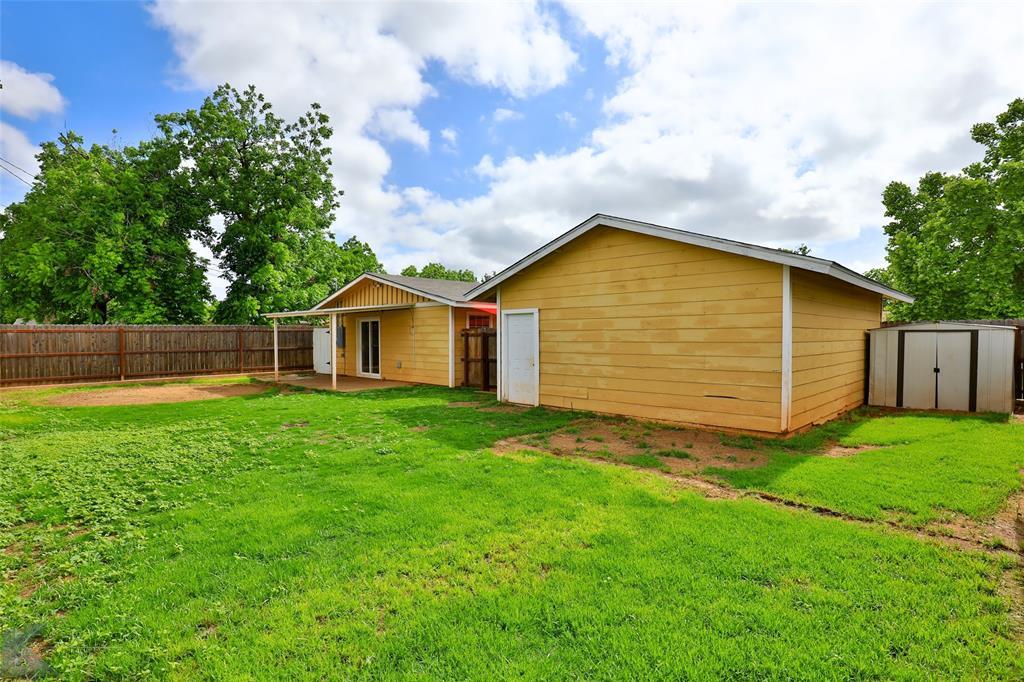 Sold Property   934 Fannin Street Abilene, Texas 79603 31