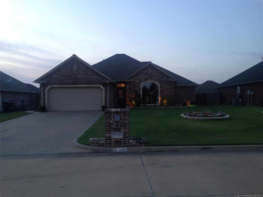 Off Market   508 Valhalla Drive Muskogee, Oklahoma 74403 0