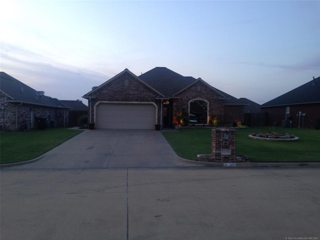 Off Market   508 Valhalla Drive Muskogee, Oklahoma 74403 1