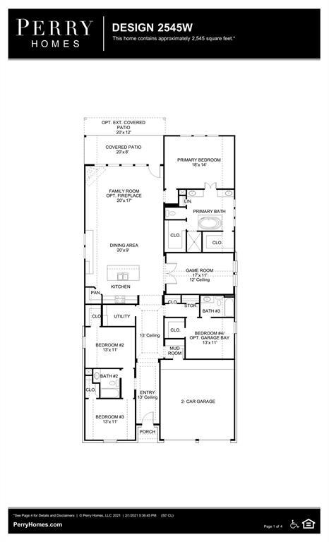 Active | 13607 Grand Basin Court Cypress, Texas 77429 1