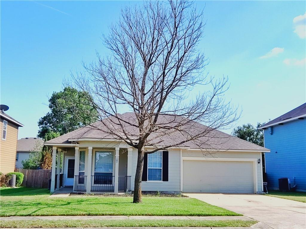 Homes for Lease Rent in Hutto   107 Holmstrom Street Hutto, TX 78634 3