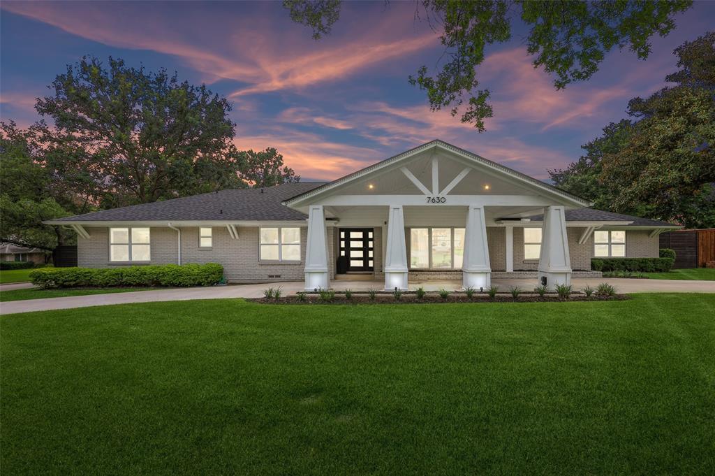 Sold Property   7630 Oakbluff Drive Dallas, Texas 75254 1