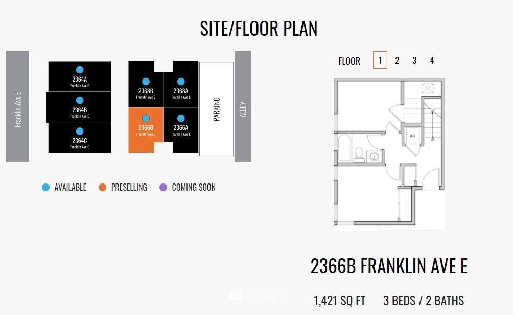 Sold Property   2364 Franklin Avenue E #A Seattle, WA 98102 31
