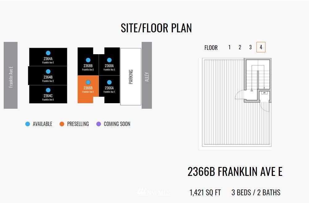 Sold Property   2364 Franklin Avenue E #A Seattle, WA 98102 34