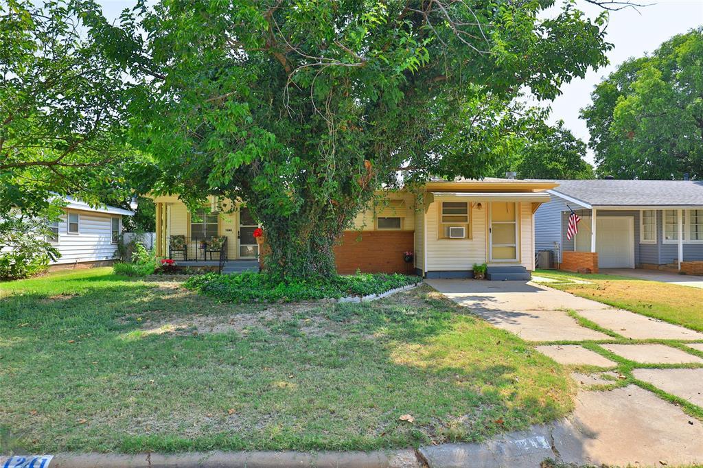 Active | 1241 S Jefferson Drive Abilene, Texas 79605 1