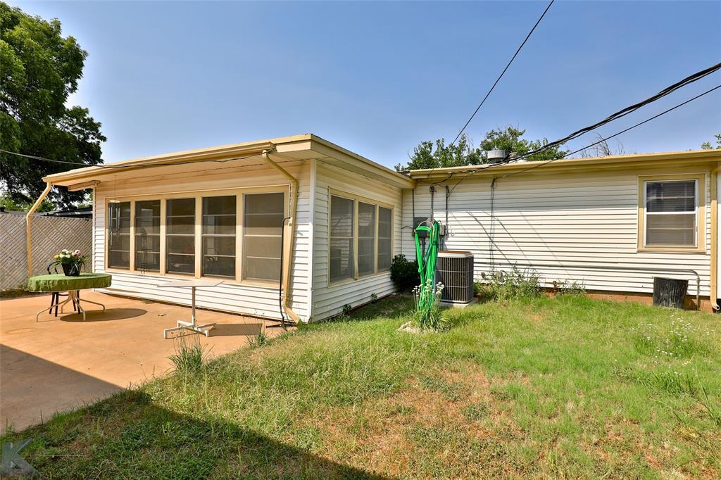 Active | 1241 S Jefferson Drive Abilene, Texas 79605 33