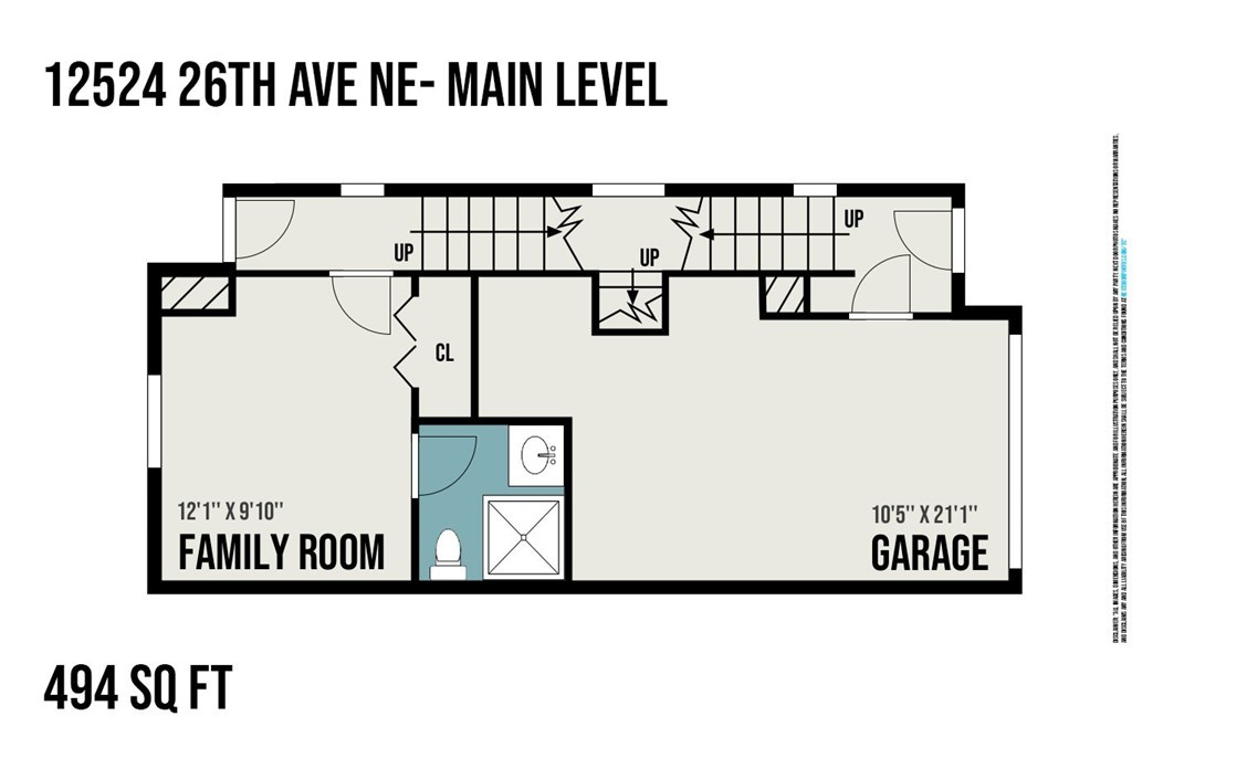 Sold Property | 12524 26th Avenue NE #A Seattle, WA 98125 26