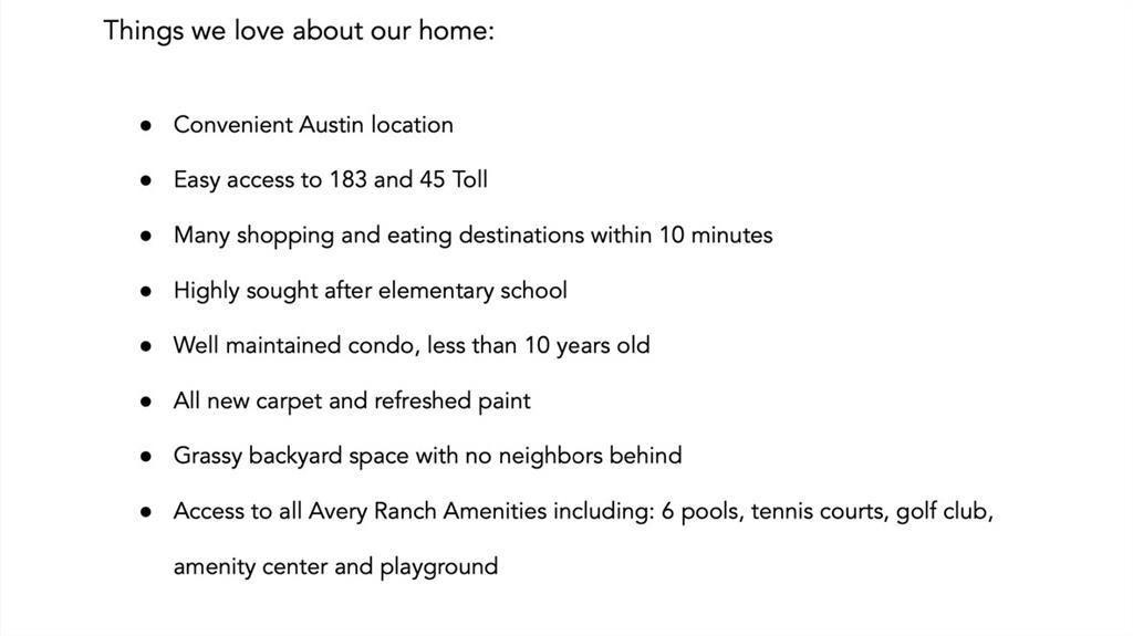 ActiveUnderContract | 14001 Avery Ranch Boulevard #1802 Austin, TX 78717 24