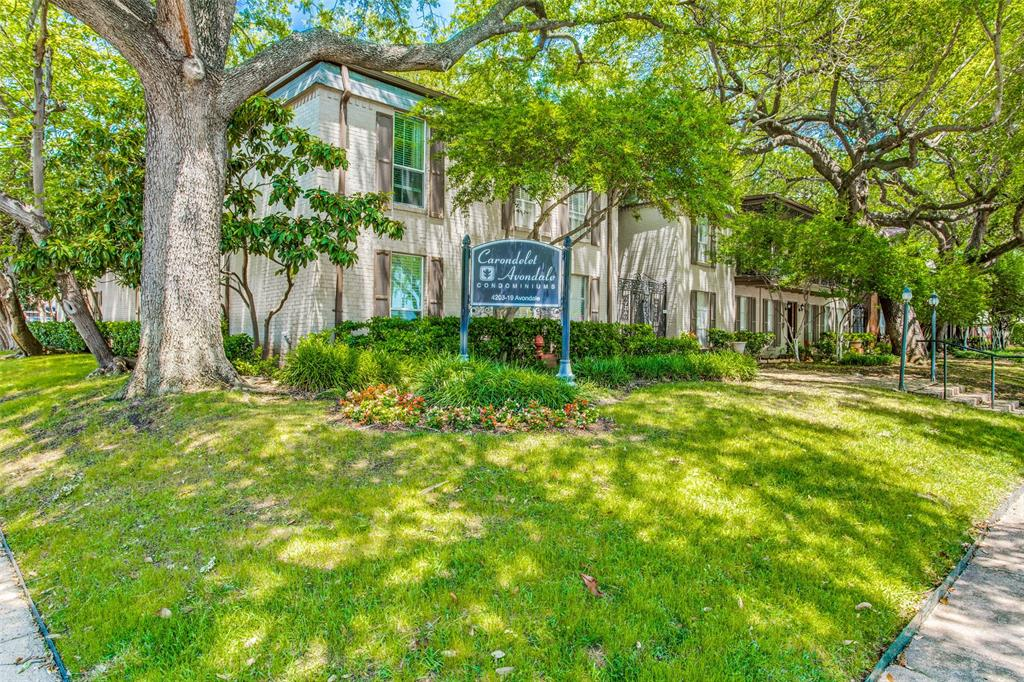 Off Market | 4203 Avondale Avenue #101 Dallas, Texas 75219 2