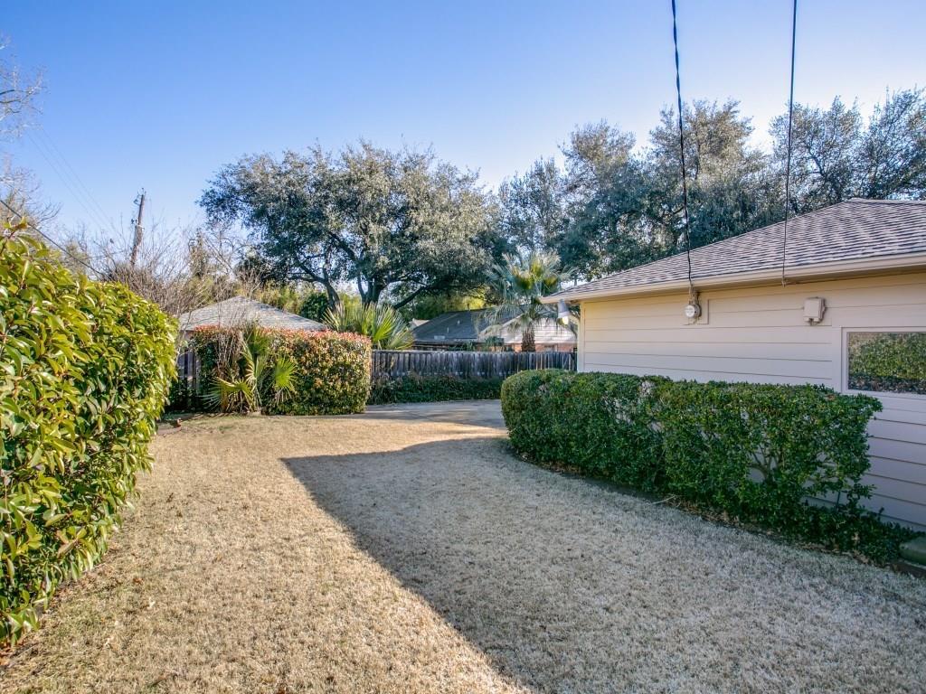 Sold Property | 6631 Highgate Lane Dallas, Texas 75214 24