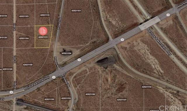 Active   0 E PROTEUS Road Mojave, CA 93501 0