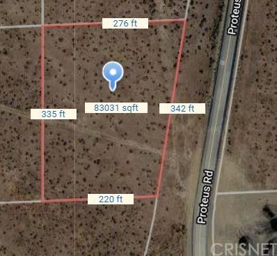 Active   0 E PROTEUS Road Mojave, CA 93501 2