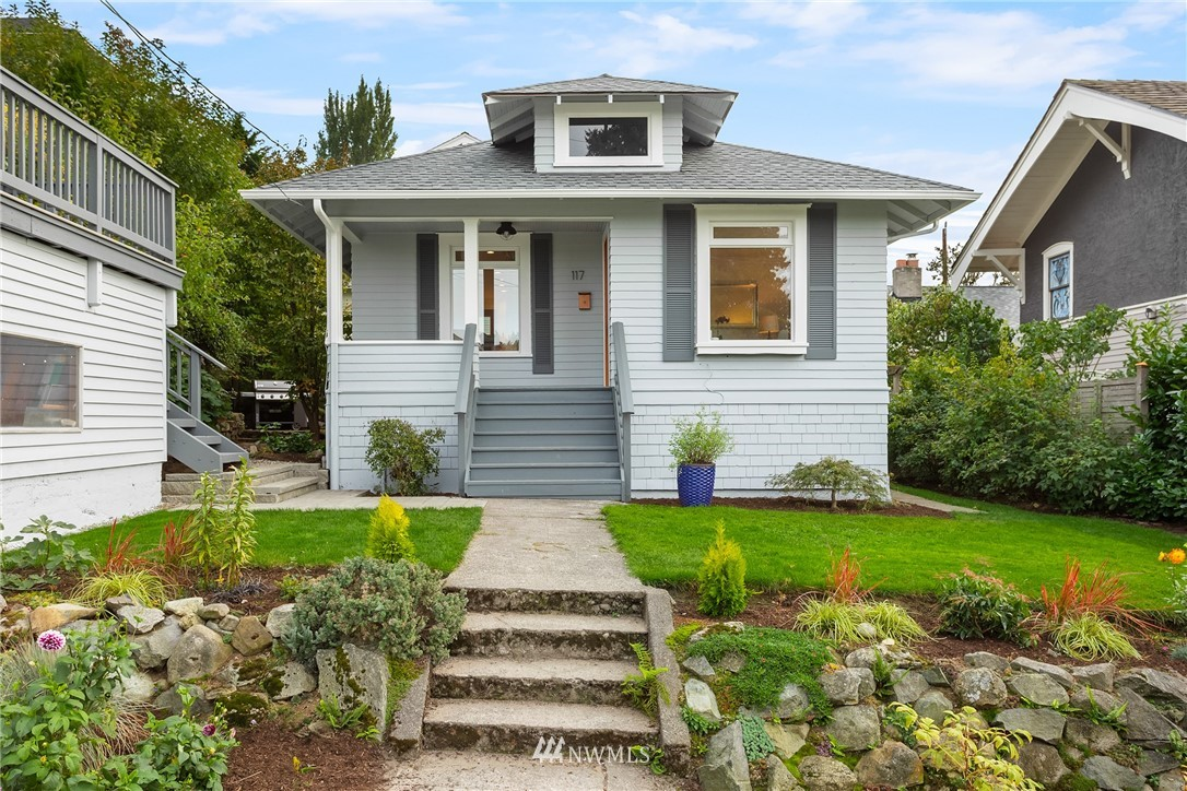 Sold Property   117 N 60th Street Seattle, WA 98103 0